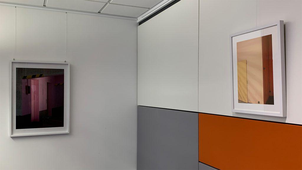 Marcus Metzner Fotografie Ausstellung Concrete / Tender Sparda Neuss, Ausstellungsansicht 2