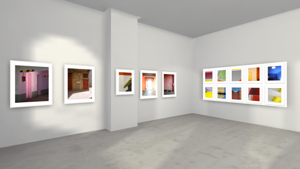 """Marcus Metzner - Fotografie -- Ausstellungsansicht """"Concrete/Tender"""" virtuell 2"""