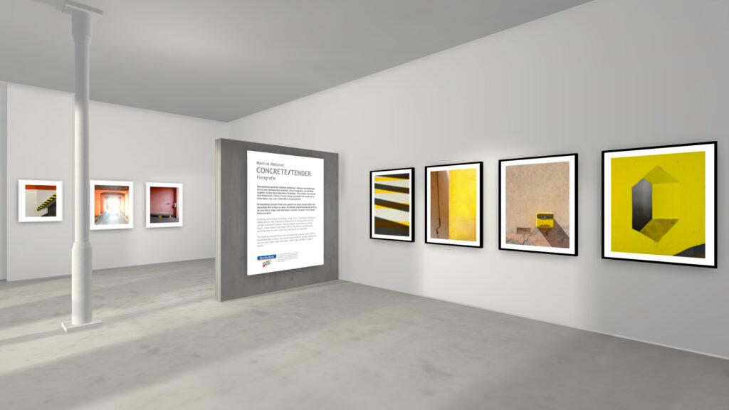 """Marcus Metzner - Fotografie -- Ausstellungsansiche """"Concrete/Tender"""" virtuell 3"""